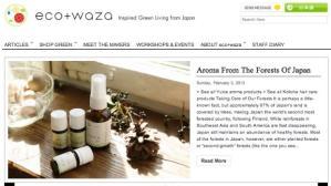 Reina Otsuka, 33, founded Eco+Waza